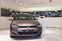 De Beperkte Uitgave 2014 van Volkswagen Golf 2014 Royalty-vrije Stock Afbeelding