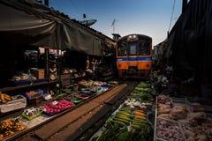 De berömda järnvägmarknaderna Royaltyfri Foto
