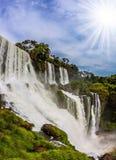 De berömda vattenfallen Royaltyfri Bild