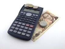 De berekening van de belasting Royalty-vrije Stock Foto's