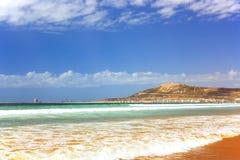 De Berg in Agadir, Marokko Royalty-vrije Stock Fotografie