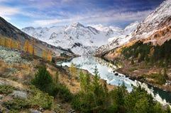 De Berg Altaya van het landschap Stock Foto's
