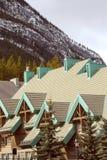 De berg brengt onder royalty-vrije stock foto's