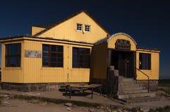 De berg brengt - Silezisch Huis onder royalty-vrije stock afbeeldingen