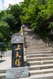 De berg Chinees van Gansukongtong Royalty-vrije Stock Afbeelding