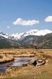 De Berg en de Stroom van Colorado Royalty-vrije Stock Afbeeldingen