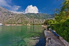 De berg en overzeese van Nice mening royalty-vrije stock fotografie