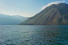 De berg en overzeese van Nice mening stock afbeeldingen