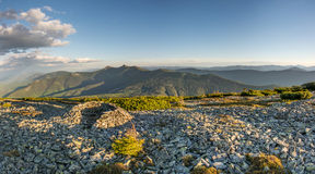 De berg is grote Syvula Stock Foto's