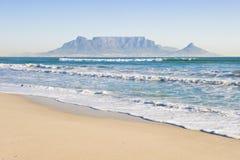 De berg Kaapstad van de lijst stock foto