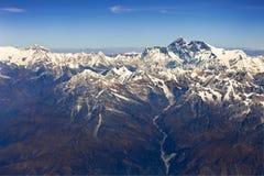 De berg Nepal van Himalayagebergte Royalty-vrije Stock Afbeelding
