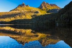 De Berg Tasmanige van de wieg Royalty-vrije Stock Afbeeldingen