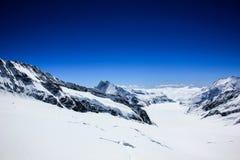 de Berg van à ¹ ‹Jungfrau Stock Foto's
