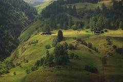 De berg van alpen Stock Foto