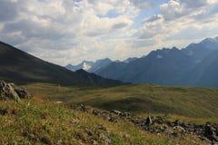 De Berg van Altai in de zomer royalty-vrije stock afbeelding