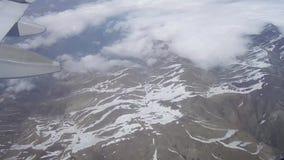 De berg van de Andes van omhoog hierboven stock footage