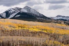 De Berg van Autumn Storm en van de Stoel Royalty-vrije Stock Foto