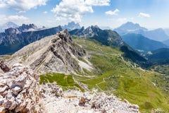 De Berg van Averau Stock Afbeelding