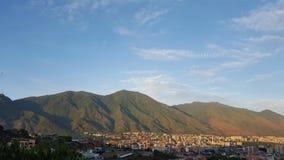 De berg van Caracas en Avila Royalty-vrije Stock Afbeeldingen