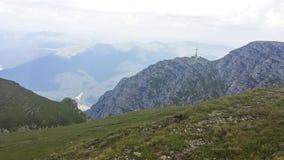 De berg van Caraiman Stock Afbeelding