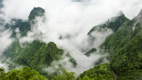 De Berg van China in Zhang Jie Jia Stock Afbeelding