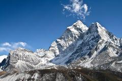 De berg van Dablam van Ama Stock Afbeelding