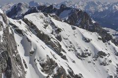 De Berg van Dachstein Stock Afbeeldingen