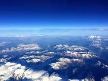 De Berg van de Andes van de Lucht Royalty-vrije Stock Foto's