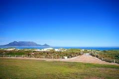 De berg van de lijst, Kaapstad Stock Foto