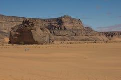 De berg van de rots Stock Afbeelding
