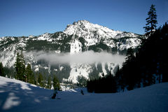 De Berg van de ski Royalty-vrije Stock Fotografie