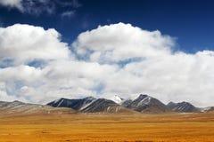 De berg van de sneeuw Stock Fotografie