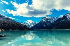 De Berg van de sneeuw, Tashkent, Oezbekistan Royalty-vrije Stock Foto