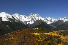 De Berg van de Sneeuw van de Draak van de jade Stock Fotografie