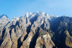 De Berg van de Sneeuw van de Draak van de jade Royalty-vrije Stock Afbeeldingen