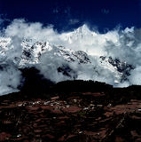 De Berg van de Sneeuw van Meili royalty-vrije stock foto