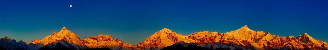 De Berg van de Sneeuw van Meili Stock Fotografie