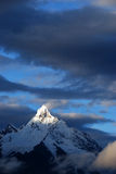 De Berg van de Sneeuw van Meili Stock Foto's