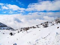 De berg van de steen Stock Foto