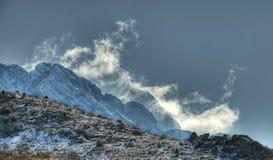 De Berg van de stoom Stock Fotografie