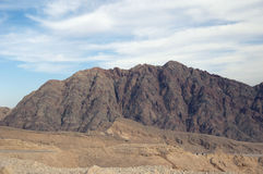 De berg van de woestijn Stock Fotografie