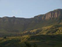 De Berg van Drakensberg Stock Foto