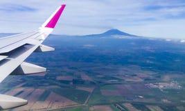 De berg van Etna en de omgeving stock foto