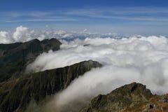 De berg van Fagaras, Roemenië Royalty-vrije Stock Foto's