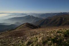 De berg van Fasce van het panorama Stock Foto
