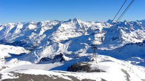 De Berg van Frankrijk Stock Foto's