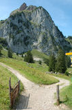 De berg van Grossermythen Stock Fotografie