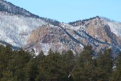 De Berg van het de Brandwondlitteken van Colorado Royalty-vrije Stock Foto