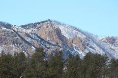 De Berg van het de Brandwondlitteken van Colorado Royalty-vrije Stock Afbeelding