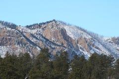 De Berg van het de Brandwondlitteken van Colorado Stock Foto
